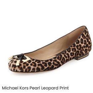MICHAEL KORS Calf Hair Flats, 7